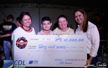 Ganhadores do Natal Premiado CDL 2016