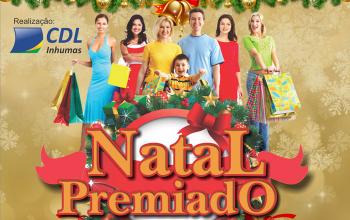Natal premiado CDL - 2018 - Relação de Ganhadores