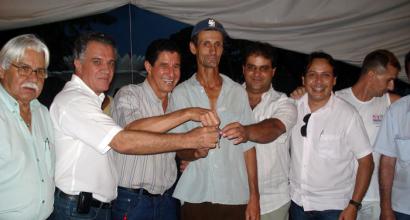 Entrega dos prêmios da promoção realizada pela CDL