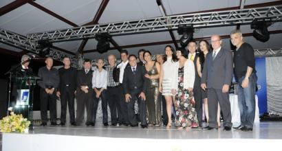 Cerimônia de entrega do Mérito Logista 2012, realizado em Inhumas pela CDL.