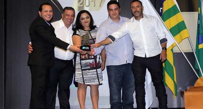 Premiação da CDL de Inhumas aos empresários mais influentes e bem sucedidos de 2017 em Inhumas