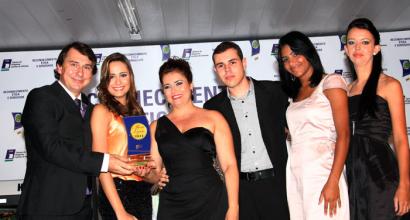 Cerimônia de entrega do tradicional Prêmio Destaque Lojista 2011, realizado anualmente em Inhumas pela CDL