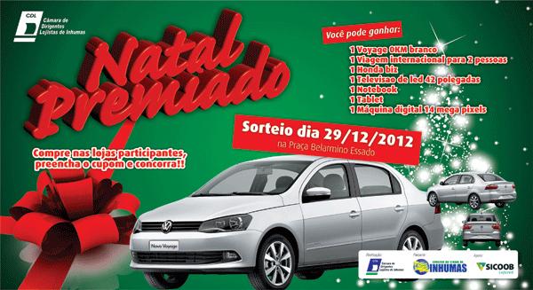 Natal Premiado CDL 2012