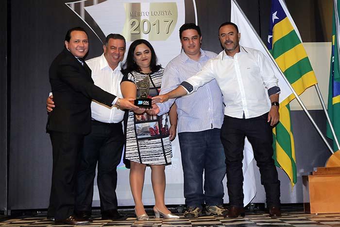 Entrega do Prêmio Mérito Lojista 2017