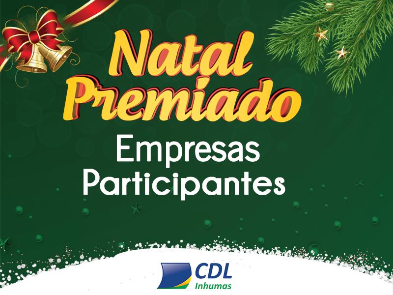 Empresas participantes da Promoção Natal Premiado CDL 2017