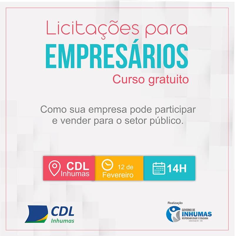 Curso gratuito de Licitações para Empresários