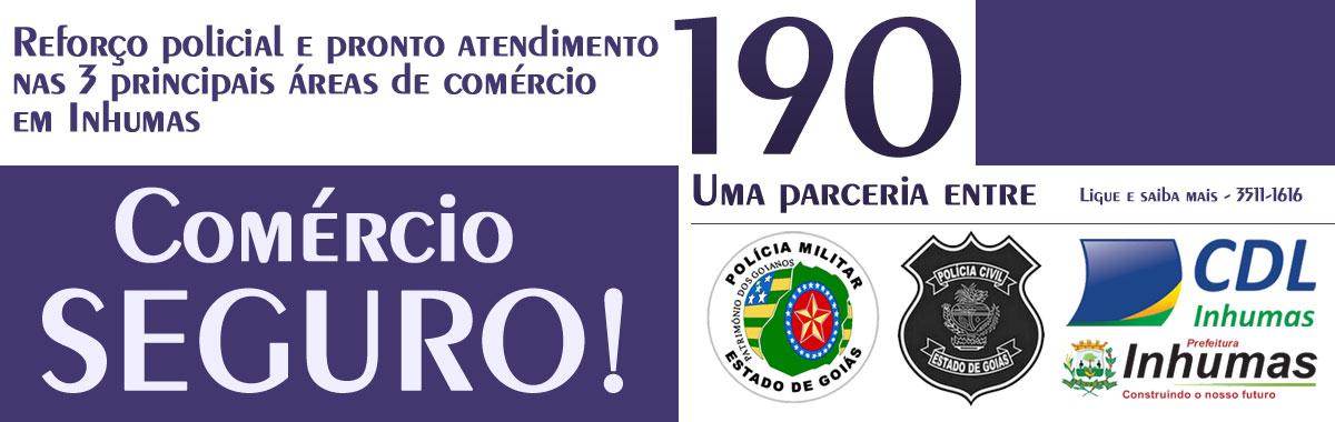 CDL INHUMAS - banner informativo